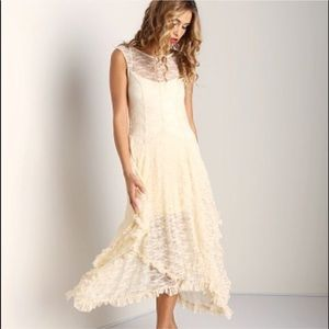 Free people French courtship dress